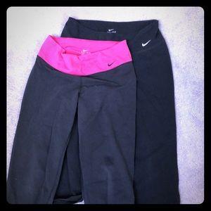 NIKE Dri-Fit cropped yoga pants